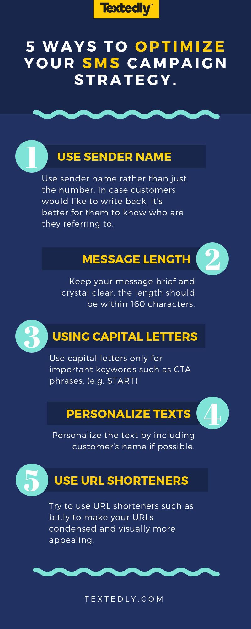 SMS campaign strategy optimization