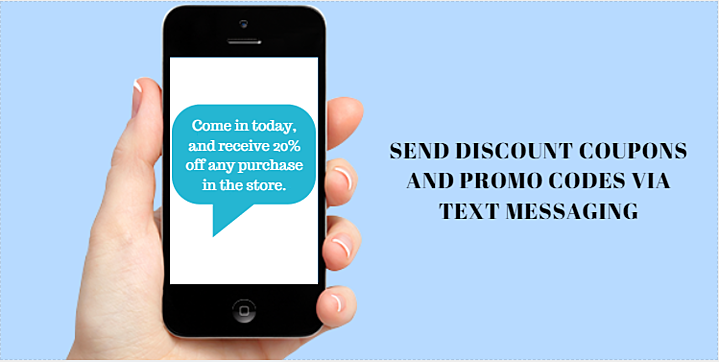 SMS discount coupons and promo codes-1