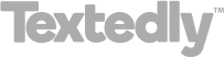Textedly Black Logo for website copy