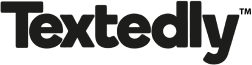 Textedly Black Logo for website