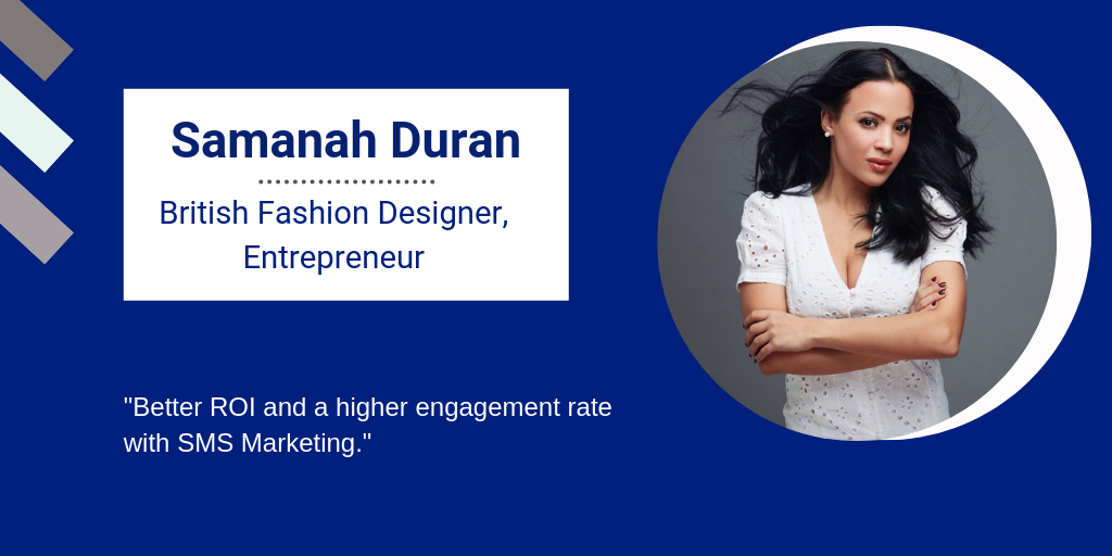 Samanah Duran, Fashion Designer and Entrepreneur