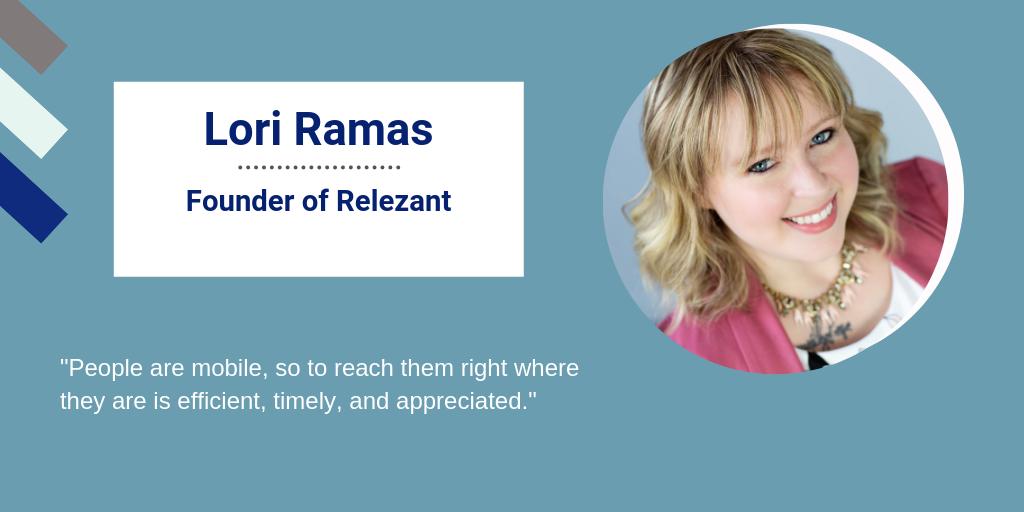Lori Ramas, Founder of Relezant