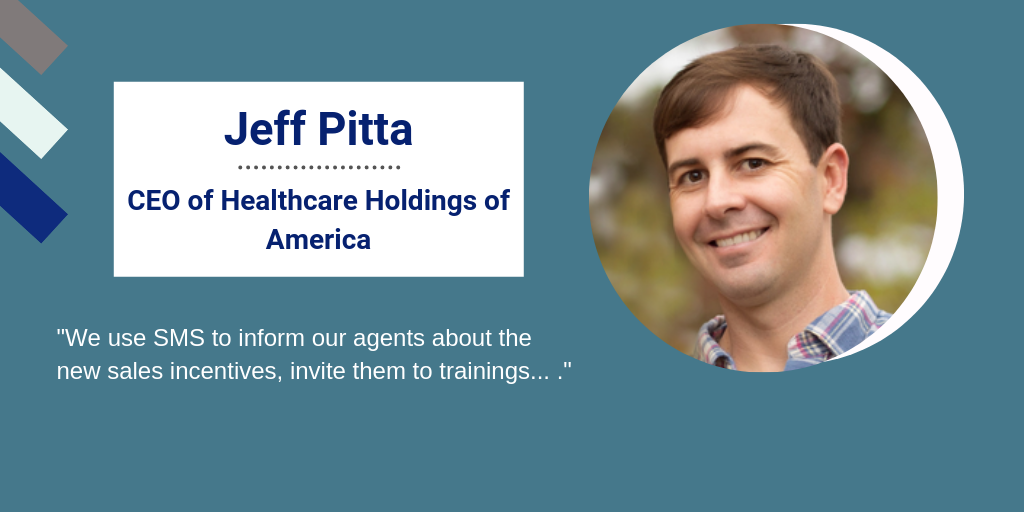 Jeff Pitta, CEO of Healthcare Holdings of America