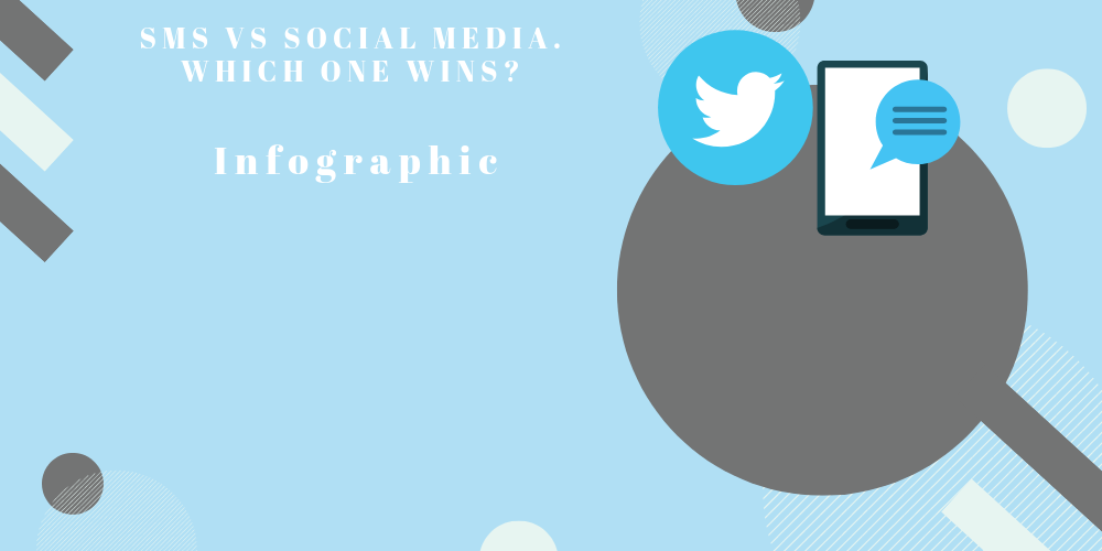 SMS vs Social Media. Which one wins? [Infographic]